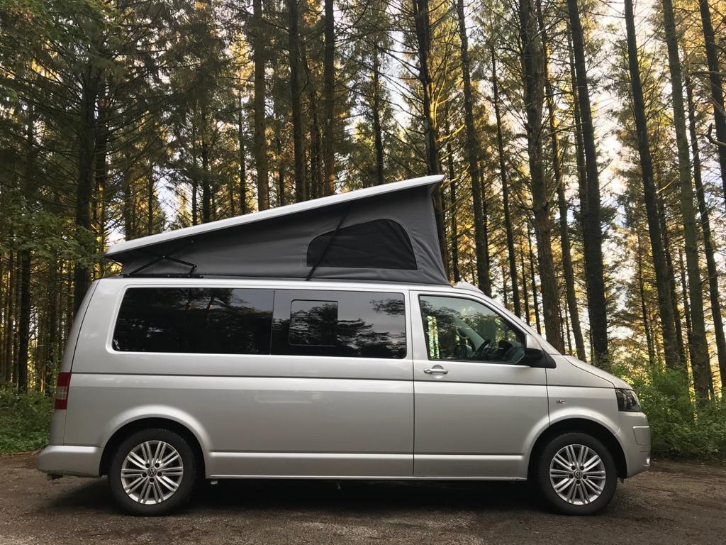 VW Campervan Hire North West England