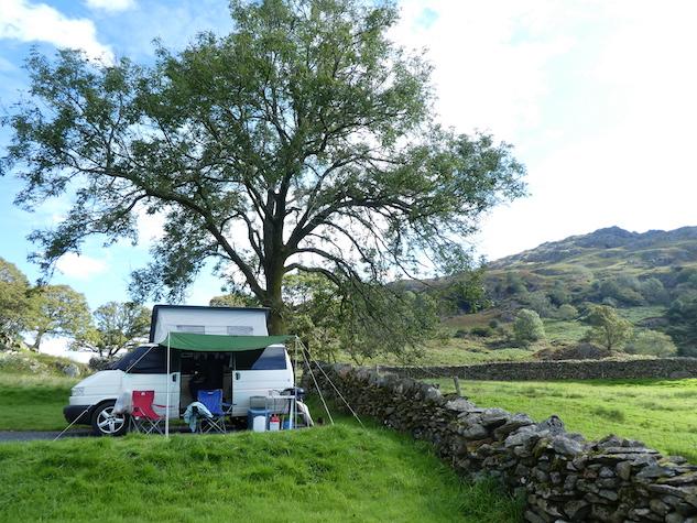 VW Campervan Lake District