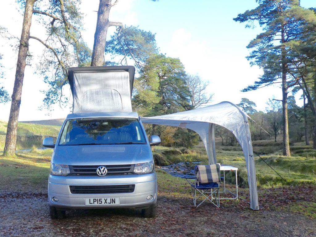 VW Campervan Hire Preston